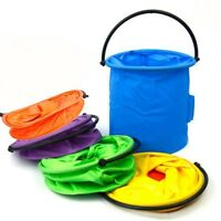 Fishing Bucket Bag Tackle Water Bait Folding Camping Outdoor Pail Storage Minnow