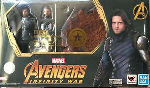 "Marvel Avengers Infinity war  ""Bucky""  figure S.H.Figuarts Bandai Tamashi - USA"