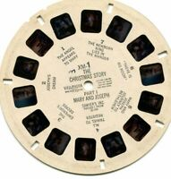 Vintage View-Master Reel - The Christmas Story, Mary and Joseph KM-1 - c. 1948