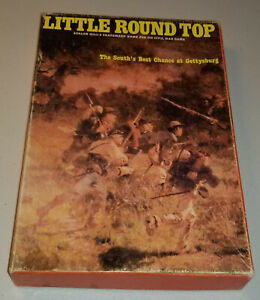 AH  Little Round Top-South's Best Chance at Gettysburg-Complete/Punched - G+