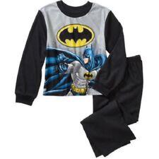 DC Comics Batman Boys Flannel Pajama Set Size 4/5 NEW