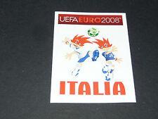 N°280 MASCOTTES ITALIA ITALIE GLI AZZURRI PANINI FOOTBALL UEFA EURO 2008