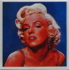 New listing Personalized Natural Stone Ceramic Tile Drink Coasters - Set of 4 - Marilyn 3 C