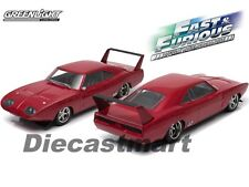 "1969 DOM'S DODGE CHARGER DAYTONA ""FAST AND THE FURIOUS 6"" 1:18 GREENLIGHT 19003"