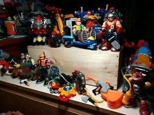 1999/2002 Mattel Rescue Heroes Huge Lot includes vehicles figures and animals
