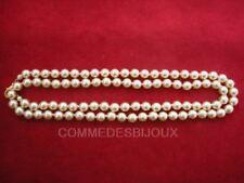 """Collier """"Perles"""" couleur Nacre style """"Diamants sur Canapé"""" - Bijoux pur Cadeau"""