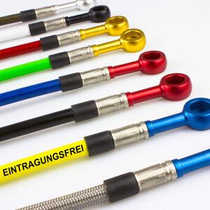 Stahlflex Bremsschlauch für Aprilia RST Futura 01. 02 [Bremse hinten]