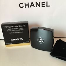CHANEL BLUSH TWEED DUO 130 TWEED EVANESCENT NEW & AUTHENTIC