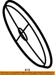 CHRYSLER OEM Front Door-Lens 5016931AA