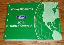 Original 2016 Ford Transit Connect Wiring Diagrams Manual 16