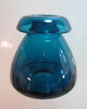 WMF Vase Kragenvase blau 15 cm hoch Design Cari Zalloni (D)