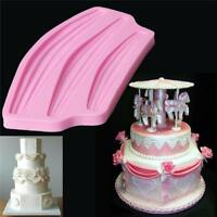 Lace Silicone Mold Sugar Craft Fondant Mat Cake Decorating Baking Tools MP