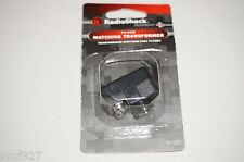 NEW Radio Shack TV / VCR Matching Transformer Cable 15-1253