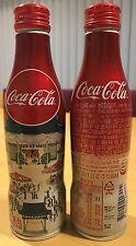 Coca-Cola Corée 2016-Noël Alumium Bouteille Avec Vis Top. COMPLET et PARFAIT