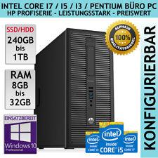 HP ProDesk 600 G1 Tower PC Intel Core i7 i5 i3 4th Gen 1 TB SSD 8 16 32 GB Win10