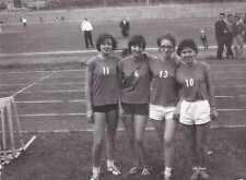 FOTO GARE PROVINCIALI DI ATLETICA SAVONA  1966 RAGAZZE  19-116A