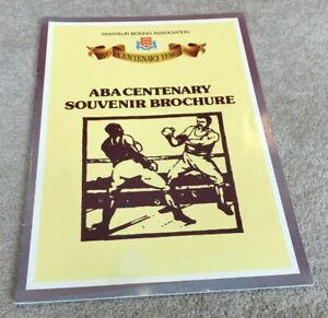 1980 ABA Centenary Souvenir Brochure, History & Features etc etc