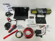 KUBOTA RTV X 900 QUADBOSS 5000LB WINCH & MOUNT DYNEEMA ROPE 2014