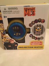 Despicable Me 3 Children Projection Toy Watch