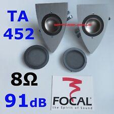 2x ► FOCAL TNF Tweeter Pair Aluminium Magnesium High End DIY Repair Home Speaker