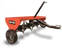 Lawn Grass Aerator 48 In. Tow Plug Tractor Outdoor Yard Work