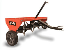 Lawn Grass Aerator 48 In. Tow Plug Tractor Outdoor Yard Work