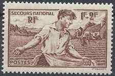 FRANCE SECOURS NATIONAL N°467 NEUF ** LUXE GOMME D'ORIGINE MNH