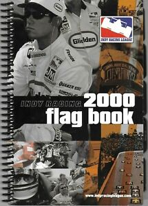 Indy Racing League 2000 Official Flag Book Issued February, 2000