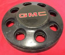 1988 - 2002 GMC Sierra 3500 HD WHEEL Center Cap dually Hubcap BLACK 4x4 Front OE
