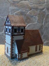 Kibri  7086    (Spur N)    Kirche Schambach - fertig gebaut