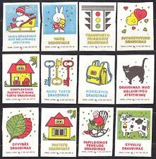 SU LTSR 1990 Matchbox Label #01/90 set 12, Insurance.
