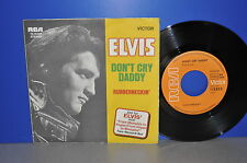 "7"" ELVIS PRESLEY DON 'T CRY DADDY/RUBBERNECKIN' d RCA 74-16020 Clean"