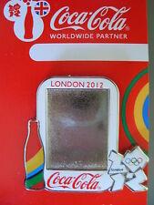 COCA COLA PIN BADGE - LONDON 2012 - PERSONALISED PHOTOGRAPH - MOC