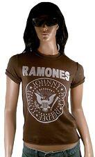 AMPLIFIED RAMONES Hey Ho Let's Go Costura Fuera Rock Star Vintage Agujeros