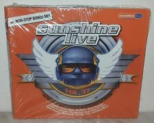 3 CD SUNSHINE LIVE 37 - ATB - PET SHOP BOYS - DIRT.ONE - NUOVO - NEW