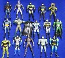 LOT OF 15 DC COMICS 1995 - 1998  KENNER BATMAN  ACTION FIGURES and cape