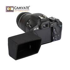 CAMVATE LCD Hoods Sun Shield Fr Canon EOS R M50 6D Mark 80D 77D Pentax K-70 K-S2