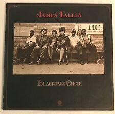 James Talley Blackjack Choir Vinyl LP Capitol 1977 Country Blues Folk