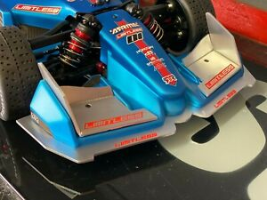 Arrma Limitless Front Wing and Bottom Plate Aluminum-STP1112