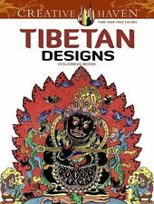 Adult Coloring: Creative Haven Tibetan Designs Coloring Book by Marty Noble...