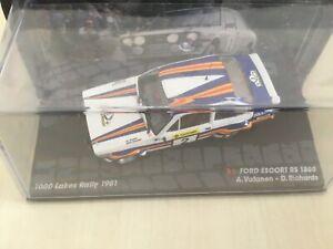1:43 Ford Escort RS 1800 Ari Vatanen 1000 Lakes Rally 1981 die-cast NEW Boxed K