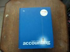 Accounting Horgren Harrison, 7th Ed.