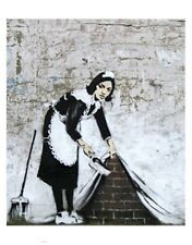 Chamber Maid Graffiti art steel fridge magnet  (se)