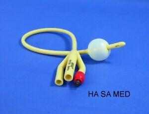 Spülkatheter, 3-Wege- Blasenkatheter ➤ 6- 8mm (CH18-24) Ballonkatheter aus Latex