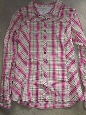 Womens Awesome Columbia Plaid Hiking Camping Shirt! Sz S