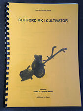 (Howard) Clifford Mk I cultivador/Rotovator/motocultores diagramas Manual-A3