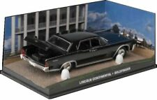 Lincoln Continental GOLDFINGER 1:43 007 James Bond coche diorama metal diecast