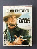 DVD EL FUERA DE LA LEY Clint Eastwood Chief Dan George Sondra Locke John Vernon