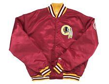 Vintage Washington Redskins Starter Satin Jacket Men's Size XL Red 90s NFL