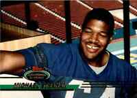 1993 Stadium #384 Michael Strahan HOF ROOKIE New York Giants